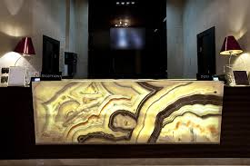 granite marble and onyx backlighting with led strip lights