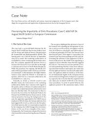 EPLR - European Pharmaceutical Law Review: Fine-tuning the Impartiality of  EMA Procedures: Case C-680/16P Dr. August Wolff GmbH vs European Commission