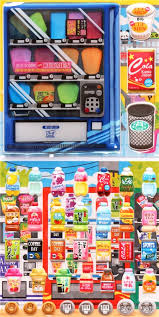 Sticker Vending Machines Best 48D Sponge Sticker Set Japanese Snacks Vending Machine Food