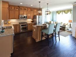 Dark Hardwood Floors In Kitchen Tag For Dark Kitchen Floors With Dark Cabinets Nanilumi