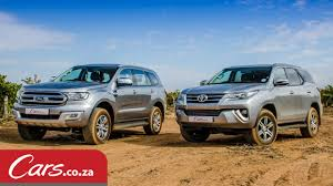 Toyota Fortuner vs Ford Everest: In-Depth Comparison & Review ...
