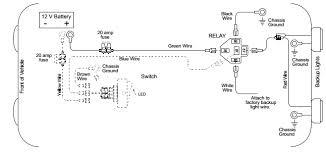 work light wiring diagram rear work light wiring diagram diagram led cube lights on rear light circuit ok