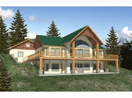 country house plans with walkout basement new
