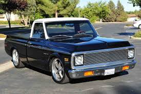 Ground Up Restored 1972 Chevy C-10 Pickup - Chevrolet Pickup ...