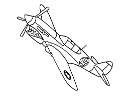 how to draw war plane coloring pages with stickers