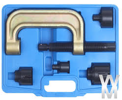 ball joint press. mercedes ball joint press kit installer remover tool set w220 w211 w230 r