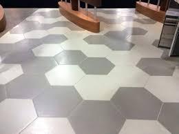 daltile hexagon tile large