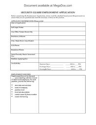 Employment Application Template Word Template Business