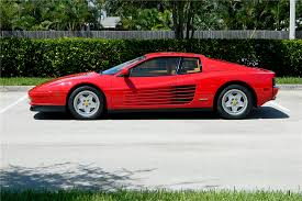 2018 ferrari testarossa. wonderful ferrari 1990 ferrari testarossa  side profile 194402  with 2018 ferrari testarossa