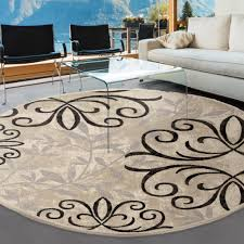 better homes and gardens iron fleur area rug round designs