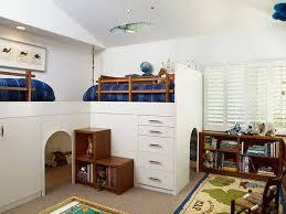 Boy's Built In Bunk Beds
