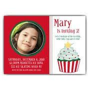Christmas Birthday Party Invitations Kids Christmas Party Invitations Paperstyle
