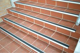 exterior stair treads and nosings. glamorous metal stair nosing lowes silver with orange ceramics exterior treads and nosings
