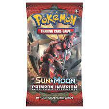 Kaufe Pokemon Sun & Moon - Crimson Invasion Booster Pack
