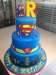 Superman Fondant Cake Design 27 Awesome Picture Of Superman Birthday Cake Superman