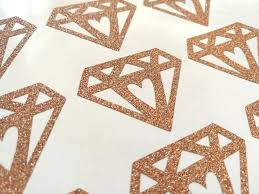 glitter wall decals rose gold diamond stickers glitter envelope seals wedding invitation stickers glitter wall gold