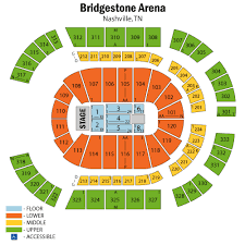 Shawn Mendes Seating Chart Bridgestone Arena Seating Chart Via Casatickets Our