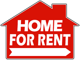 for rent sign template home