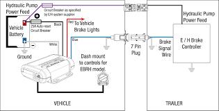 Battery Powered Trailer Lights Wiring Diagram For Trailer Lights And Electric Brakes Best