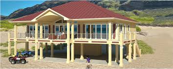 beach house plans on pilings. Clearview 2400P \u2013 2400 Sq Ft On Piers : Beach House Plans By Cat Homes Pilings