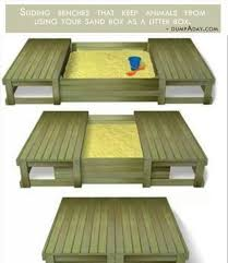wonderful wooden sandbox with seats and 14 best sandbox cover ideas images on home design sandbox