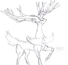 Our free coloring pages for adults and kids, range from star wars to mickey mouse. Xerneas By Silentlightness On Deviantart