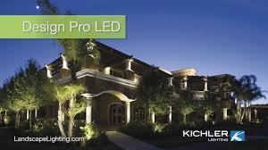 kichler design pro led landscape lighting endorsed by property owners at gorgeous california winery you
