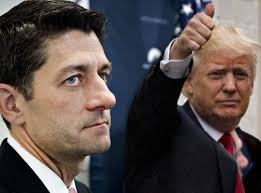 Image result for trump and ryan