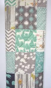 Modern-Baby Quilt-Organic-Baby Boy Bedding-Birch Fabric-Chevron ... & Modern-Baby Quilt-Organic-Baby Boy Bedding-Birch Fabric-Chevron- Adamdwight.com