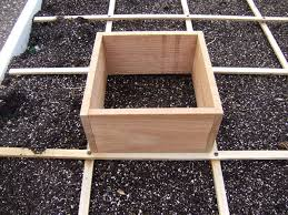 be a square foot gardener