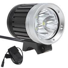 Securitying Lights 2019 Brand Securitying 3 X Xm L T6 Led 1800lm Led Headlamp Bicycle Light With 4400mah Battery Pack Lef_s05 From Superflashlight 20 11 Dhgate Com