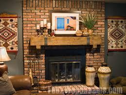 stunning brick fireplace mantel decor 45 on interior decor home with brick fireplace mantel decor