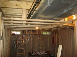 Basement Ceiling How To Paint Unfinished Basement Ceiling Paint An