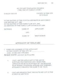Affidavit Statement Of Facts Fascinating Sworn Statement Affidavit Form Of Fact Template Juanmarinco