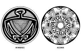 Indiánský Motiv Indiánského Vektory Design Keramiky Obrázky Obrázek