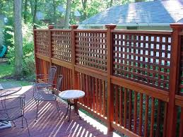 adding privacy screen existing deck - Google Search