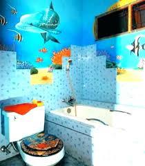 Beach Style Bathroom Beauteous Sea Themed Bathroom Cfrederickwehbaco