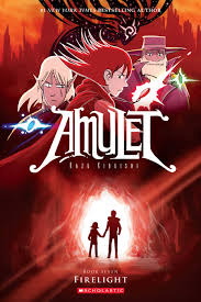 amulet book seven firelight by kazu kibuishi