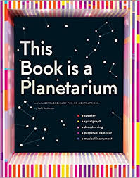shelf awareness pagesofjulia this book is a planetarium as well as a musical instrument a decoder ring a spiralgraph and more a smartphone or small led light the galaxy comes