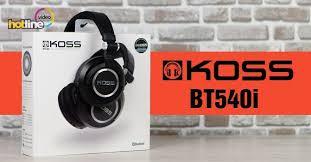 Видеообзор беспроводных Bluetooth-наушников <b>Koss BT540i</b> ...