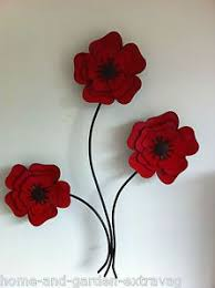 >red poppies wall art metal wall art red poppies poppy room  red poppies wall art metal wall art red