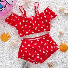 TODDLER BABY GIRLS Watermelon Swimsuit Swimwear Bathing Suit Tankini ...
