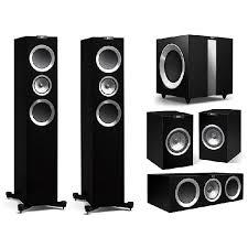 kef sound system. picture of kef r500 5.1 home cinema av pack sound system