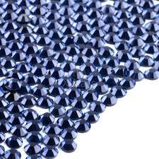 Broušené Kamínky Na Nehty Ss6 2 Mm Se Swarovski Efektem 100 Ks Montana Blue