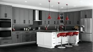 red pendant lights for kitchen elegant gray painted kitchen cabinets gray and red kitchen ideas