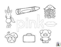 color pink coloring pages letter d coloring pages preschool color pink sheet ribbon n color pink