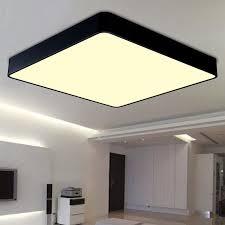 diy ceiling lighting. Black / White Mordern Contracted Iron Square Diy Ceiling Light Living Room Bedroom Restaurant Decoration Lamp Lighting