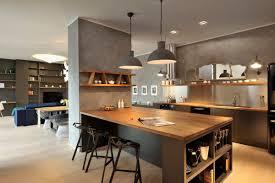 Modern Kitchen With Bar Modern Kitchen Pendant Lighting Kitchen Island Breakfast Bar