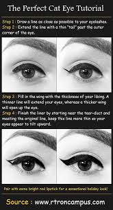 the perfect cat eye tutorial beauty tips fashion trends and styles