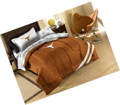 ncaa texas longhorns twin bedding set picture 1 of 11